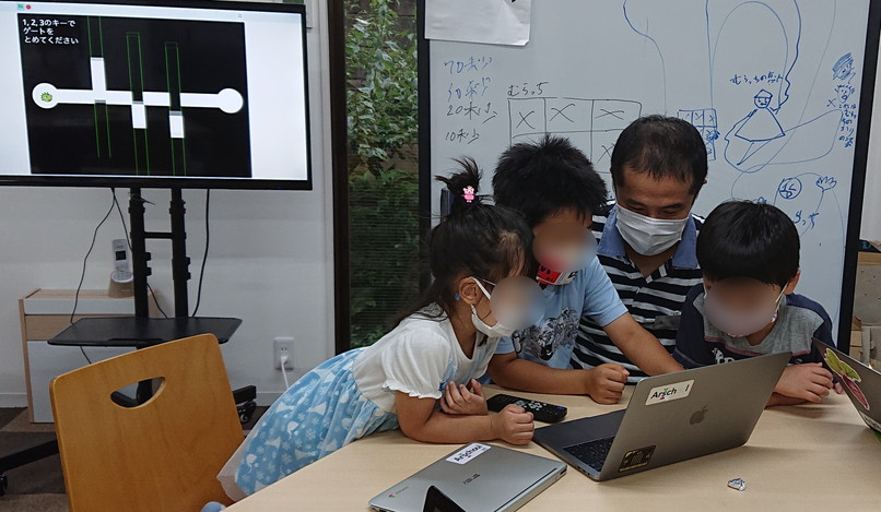 Scratch プログラミング教室(4)