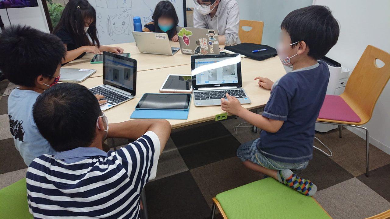 Scratch プログラミング教室(10)