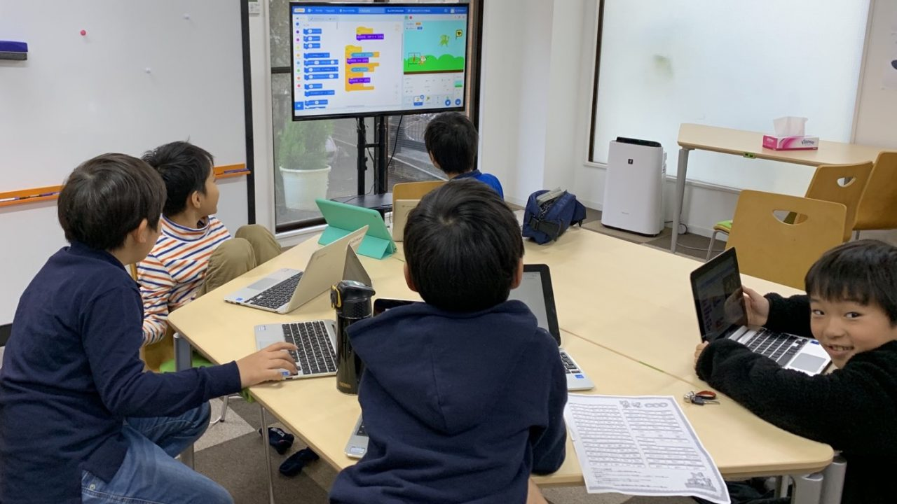 Scratch プログラミング教室(14)